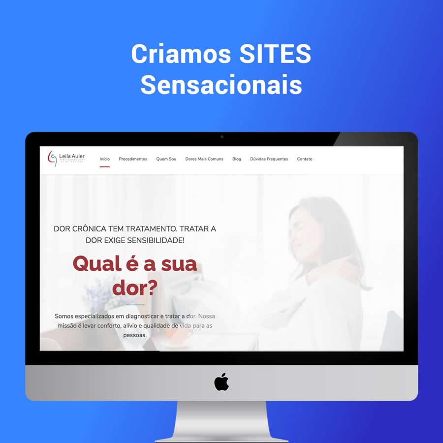Criação de Sites pra Clínicas e Médicos